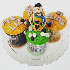 Un Pedro Picapiedras convertido en Doctor.  #cupcakes  #cupcakegourmet #magdalenas #pzo #pzocity #igersguayana #bakery #poz #adictoacupcakegourmet #lospicapiedras #pedropicapiedra #flinstones #doctor #medico