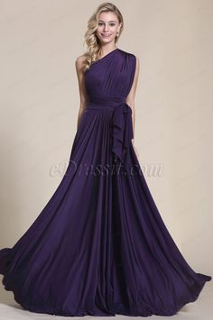 Looking for low price but high quality Convertible Elegant Purple Evening Dress Bridesmaid Dress (07154706)? eDressit.com can custom-made for you!