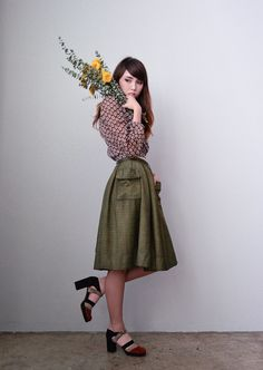 Vintage Fashion Lookbook by Adoredvintage.com | Among the Flowers