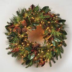 Florist's Choice Pre-lit Wreath