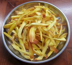 Jackfruit Chips A popular deep-fried snack from South India.