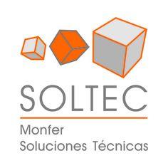 logotipo de SOLTEC, Monfer Soluciones Técnicas