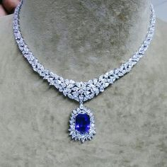 @thedcompany. #gorgeous #fashion #style #loveit #wow #stoned #fancy #luxury #rock #design #art #jewelry #marquise #pan #necklaces #tanzanite #diamond #gold #2017