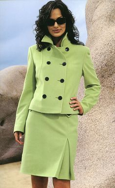 Skirt Suit for Women...would be cool especially in red