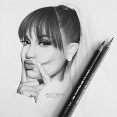 WANT A FEATURE ?   CLICK LINK IN MY PROFILE !!!    Tag  #LADYTEREZIE   Repost from @sketchabelle   @arianagrande #wip  - I'm really enjoying doing this drawing and I can see why so many people draw her! I'm using Winsor and Newton Bristol Board Extra Smooth Paper Copic Ciaos (E21 E00 E35 E11 R20) and Faber-Castell Polychromos (72 set)  - Inspired to do this drawing of Ari by @j.claudiio  @francescospedicato_  @antony_hnz and @arigrandedrawing - Go check out their amazing accounts…