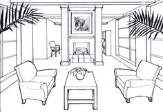 common room sketches student - Google Search