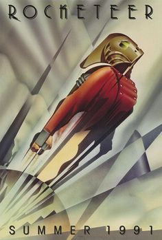 Rocketeer in A Showcase of Art Deco Design Inspiration