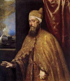 Titian- Doge Francesco Venier, 1554