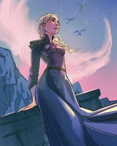 Game of Thrones is back! I sketched my fave character Dany. Process video available at my Patreon! Game Og Thrones, Game Of Thrones Books, Daenerys Targaryen Art, Khaleesi, Got Dragons, Mother Of Dragons, Got Throne, Fandom Games, Throne Of Glass