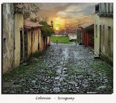 Colonia, Uruguay is a UNESCO historical world site. Only a short boat ride from Buenos Aires
