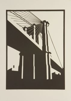 Buy a linocut print Brooklyn Black from a ltd edition of 75 prints by British printmaker Paul Catherall. For Arts Sake - art prints online. Graphic Pattern, Street Art, Art Prints Online, Linoprint, A Level Art, Monochrom, Art Graphique, Brainstorm, Linocut Prints