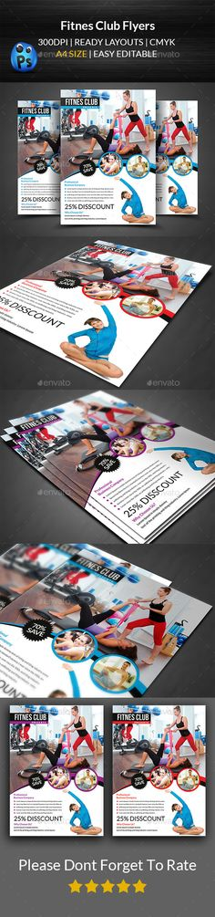 Charity Event Flyer Template Event flyer templates, Event flyers - fitness flyer template