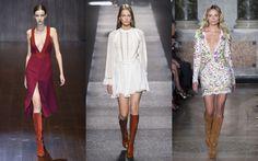Die Designer scheinen sich einig: In diesem Sommer sind Stiefel angesagt!