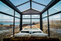 Panorama Glass Lodge in Iceland