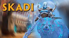 GoMultiplayer está sorteando 2 diosas Skadi con su aspecto Winter's Wrath de SMITE