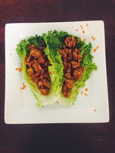 Breakfast At Kirsty's : Wrap Wednesday-Chicken Lettuce Wraps
