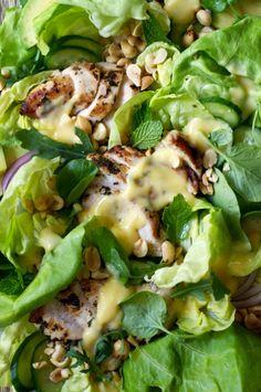 Chicken and Mango Dressing Salad