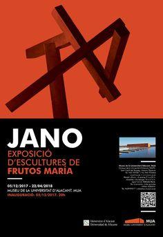 Escultor Frutos María: JANO EXPOSICIÓN DE ESCULTURAS Frutos María Inaugur... Alicante, Artwork, Movie Posters, Janus, University, December, Museums, Sculptures, Work Of Art