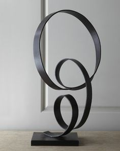 Forged Iron Sculpture by John-Richard Collection at Neiman Marcus.
