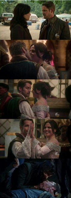 "#OnceUponATime 5x02 ""The Price"" - Regina and Robin"