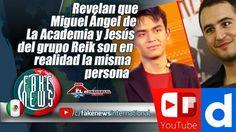 Revelan que Miguel Ángel de La Academia y Jesús del grupo Reik son en re...