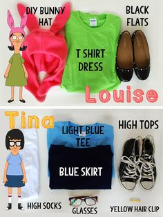 I am totally going to be Louise for Halloween... or Tina, if I'm in a hurry.
