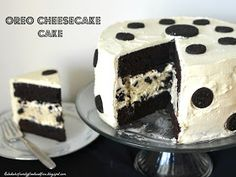 Family, Food, and Fun: Oreo Cheesecake Cake