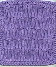 Valentine's Heart knit dishcloth  http://www.knittingonthenet.com/patterns/clothheart2.htm