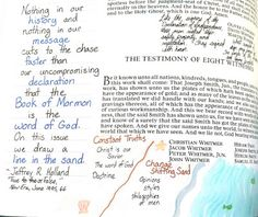 Love Is Homemade: Book of Mormon Journaling: Introductory Pages (December 30-January 5) Book Of Mormon Scriptures, Mormon Book, Journal Pages, Study Journal, Art Journaling, Journals, Visiting Teaching Handouts, Scripture Study, Scripture Journal