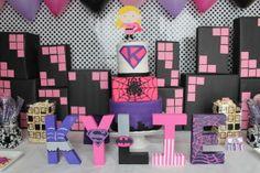 A Girly Superhero Birthday Party