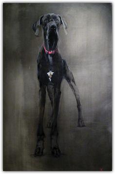 #Great #Dane painting