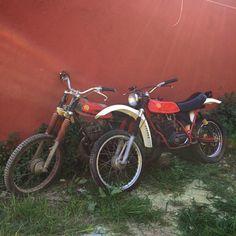 Montesa Enduro 75 y 125c.c. Listas para empezar el proyecto