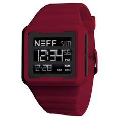 Neff - Odyssey Maroon Watch