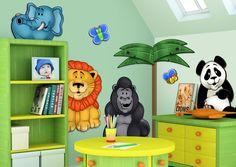 Marvelous Baby Room Animal Theme  Rainforest Theme Baby Rooms Boy Themed Nursery Ideas Themes