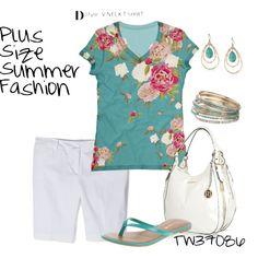 """Summer Plus Size Fashion"" by tigerwoman37086 on Polyvore"