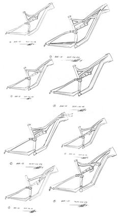 Specialized FSR Bicycle Frame Study on Behance