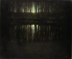 ThePondMoonlight Edward Steichen (1904)