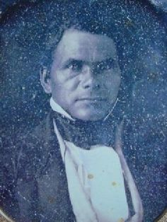 """RARE PHOTO OF STAND WATIE-  The Cherokee Chief Stand Watie Is The Last Confederate General To Surrender In The Civil War  Picture at the Cherokee Heritage Center -This ambrotype is believed to be a younger Stand Watie and was printed in the book """"Cherokee"""" by David G. Fitzgerald and Robert J. Conley. Watie's raids behind Union lines had distracted and delayed Union troops when they were badly needed at battles. In retribution, the U.S. punishes the Cherokee and peoples of othe..."""