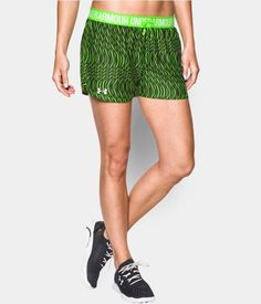 Women's UA Play Up Printed Shorts | Under Armour US