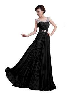 DLFashion Scoop Neck Sweep Train Beaded Chiffon Prom Dress XL-16 Black DLFashion,http://www.amazon.com/dp/B00GWEV1V0/ref=cm_sw_r_pi_dp_bynftb1C5AX26AZ8