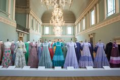 Laura Ashley :The Romantic Heroine exhibition, at the Fashion Museum in Bath