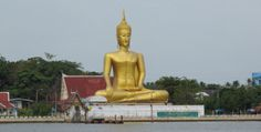 Big Buddha Koh Kret Bangkok