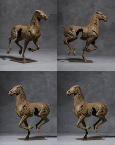 Christophe Charbonnel – Cheval IV Bronze – Photo B. Minier / Horse Sculpture