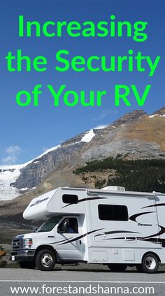 RV Security - Making sure your RV is harder to break into It can be scary to think that the camper next to you in the campground has the same key as you. Here are some things you can do to increase your RV Security Rv Camping Tips, Camping Ideas, Camping Products, Camping Stuff, Camping Outdoors, Camping Essentials, Camping Checklist, Camping Activities, Family Camping
