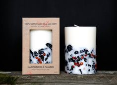 A luxurious-looking apple cinnamon candle made from Icelandic lava stones you can say you brought back from your last vacation as a chic souvenir. | 22 Things That Prove Apple Is The Definitive Fall Scent