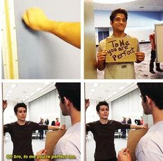 Dylan O'Brien and Tyler Posey #OBrosey