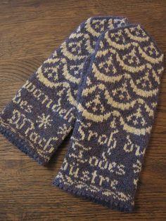 Ravelry: yarnjungle's Mittens of the Eighteenth Century