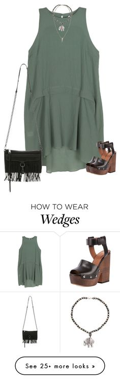 """""""Clog wedges"""" by southerbelle549 on Polyvore featuring Bodkin, Givenchy, Hipchik, H&M and Rebecca Minkoff"""