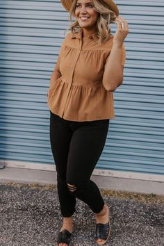 easy outfits to put together,easy fashion outfits comfy casual,easy fashion outfits,for women Outfits Plus Size, Curvy Girl Outfits, Style Outfits, Casual Outfits, Summer Outfits, Fashion Outfits, Girl Fashion, Plus Size Fall Outfit, Spring Outfits Curvy Women