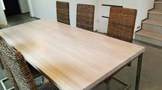 Unique dining table or office desk by Projekt Drewno